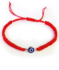 red bracelet with eye images Rope braided evil eye bracelet evil eye mall jpg