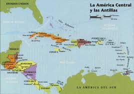 Map Centro America by Spanish Web Resources Maps