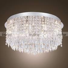 Light Fixtures Chandeliers Chandeliers Design Wonderful Flush Mount Crystal Chandelier