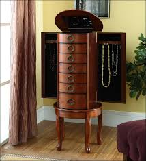 bedroom magnificent cheap jewelry armoire jewelry closet mirror