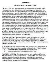 free limited power of attorney new jersey form u2013 adobe pdf