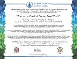 today u0027s the last day to rsvp to the ewec world cancer day event