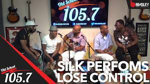 silk performs lose control for old school 105 7 youtube silk performs lose control for old school 105 7