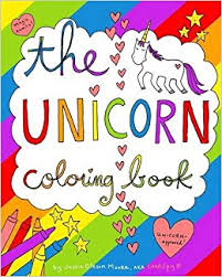 coloring book the unicorn coloring book 9781364315597