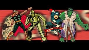 avengers earth u0027s mightiest heroes images vintage original