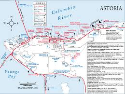 Northern Oregon Coast Map by What To Do In Astoria Oregon Travel Astoria Warrenton