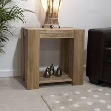 Oak Furniture Uk Padova Solid Chunky Oak Furniture Lamp Sofa Side End Table Ebay