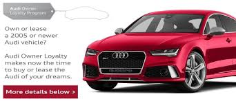 audi in audi owner loyalty program circle audi in
