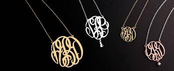 monogram jewlery monogram jewelry collection jewlr