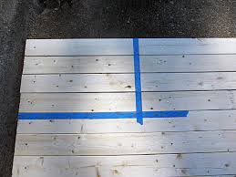 diy american flag made from lumber