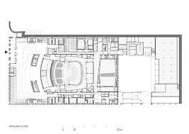 orchestra floor plan gallery of national polish radio symphony orchestra konior studio 14