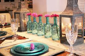 Casual Table Setting Simple Nature Decor