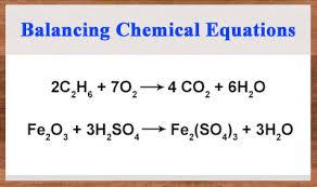 balancing equations ck 12 foundation