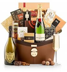 sending wine as a gift the royal chagne gift basket luxury wine baskets a lar