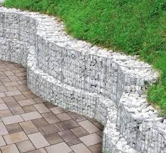 gabion retaining wall garden design ideas slope garden jardim