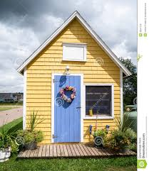 little yellow house royalty free stock images image 26541149