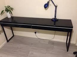 ikea bureau besta burs ikea besta burs desk table black in hackney gumtree