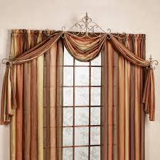 unique curtains sabelle drapery hardware accent set within swag