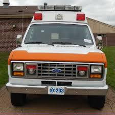 1989 ford e350 econoline xlt ambulance item d8065 sold