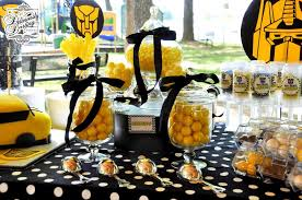 transformer party favors transformers birthday party ideas photo 7 of 11 catch my party
