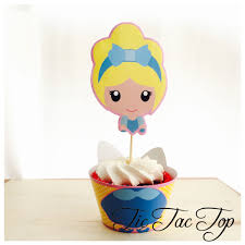 cinderella cupcake toppers princess cinderella cupcake wrappers big toppers
