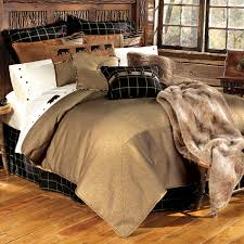 Rustic Bedroom Bedding - exclusive bear comforters at black forest decor