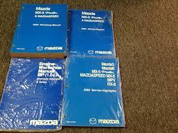 2005 mazda mx 5 mx5 miata mazdaspeed service repair shop manual