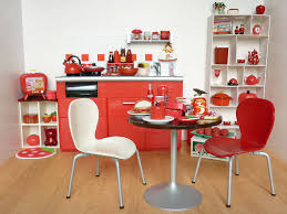 Apple Decor For Kitchen Re Ment Very Red Kitchen Flickr