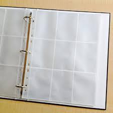 plastic photo album online shop 50 100 pieces lot transparent storage sleeve protector