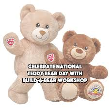 build a teddy celebrate national teddy day with build a workshop six