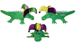 mardi gras alligator new orleans gifts figurines gators toys new orleans souvenirs