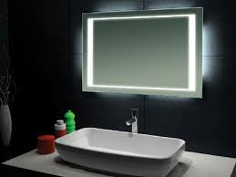 bathrooms design back lighted bathroom mirrors inspirations and