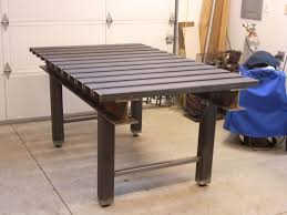 diy portable welding table complete diy welding table and cart ideas 50 designs