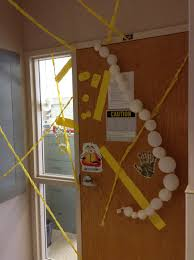 halloween door decorating contest 2014 biology and microbiology