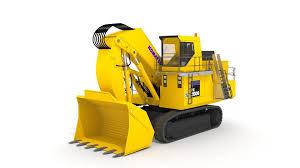 3d model komatsu pc2000 8 excavator cgtrader