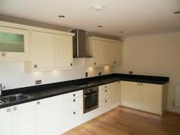 modern kitchen idea black granite kitchen modern normabudden com