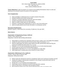 Objective Resume Customer Service Examples Of Customer Service Skills For Resume Cover Letter Cover