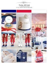 nautical weddings illustrated