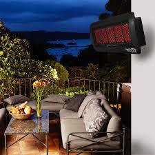 Patio Heater Heat Shield by Bromic Heating Tungsten 500 Smart Heat 25 Inch 43 000 Btu Propane