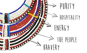 the story behind maasai beaded jewelry il ngwesi discovered