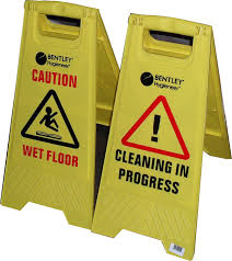 Wet Floor Images by Caution Wet Floor Caution Cleaning In Progress A Frame Sign