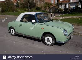 classic nissan 1960 u0027s nissan figaro classic coupe sports car stock photo royalty
