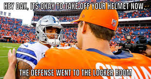dallas cowboys the best fan made memes from cowboys broncos