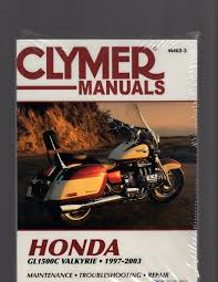 honda gl1500c valkyrie 1997 2003 maintenance troubleshooting
