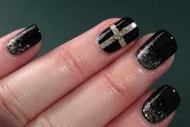16 beautiful black nail art designs