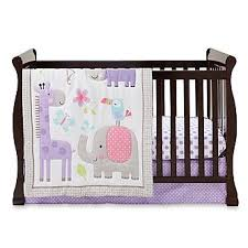 Crib Bedding Animals Cuddletime Sweet Safari 3 Crib Set Animals Polka Dots