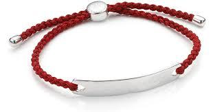 red friendship bracelet images Lyst monica vinader havana men 39 s friendship bracelet in red jpeg