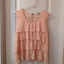 light pink tank top forever 21 forever 21 light pink ruffled tank top 21st stylish and bb