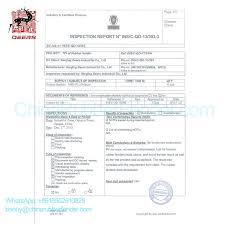 bureau veritas testing bv certificate