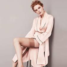 robe de chambre satin chaud à manches longues en satin de soie robe peignoir